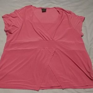 Coral shirt size 1x